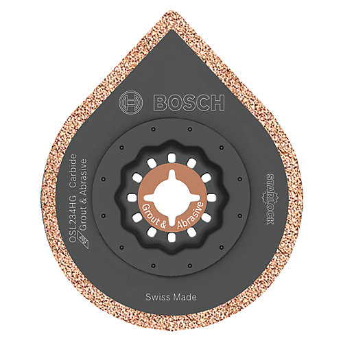 2-3/4 inch Starlock Oscillating Multi Tool Hybrid Grout Blade
