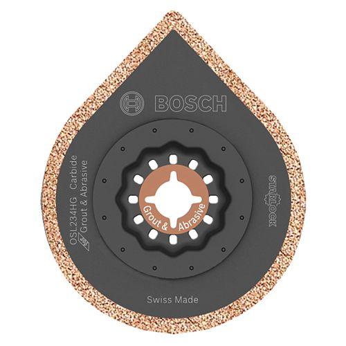 2-3/4 inch Starlock Oscillating Multi Tool Hybrid Grout Blade