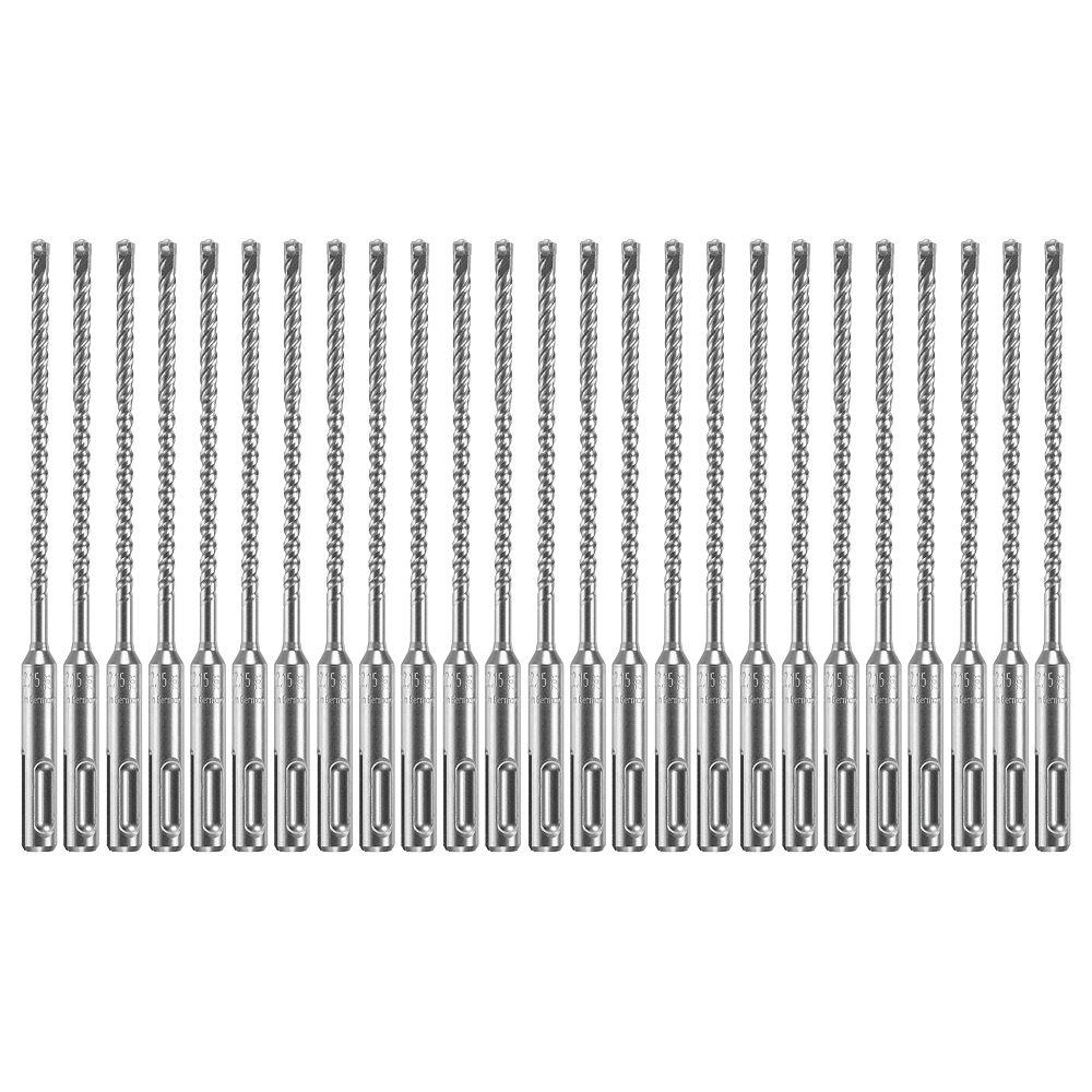 Bosch 25 forets pour marteau perforateur au carbure Bulldog Xtreme SDS-plus de 3/16pox4po x 6-1/2 po