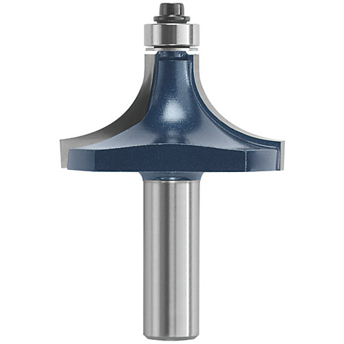 3/4 inch x 1 inch Carbide-Tipped Roundover Router Bit
