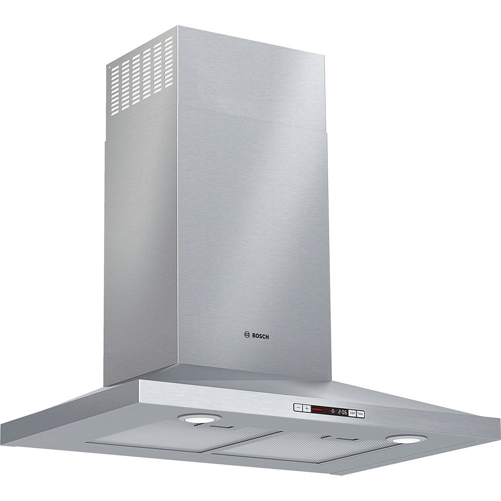 "Bosch 300 Series, 30"""" Pyramid style canopy, - ENERGY STAR®, 300 CFM"