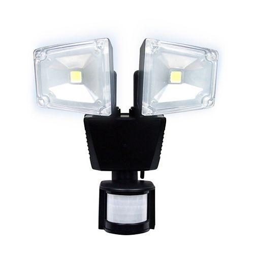 160 Degree Motion Sensing Outdoor Solar Dual Lamp Security Light