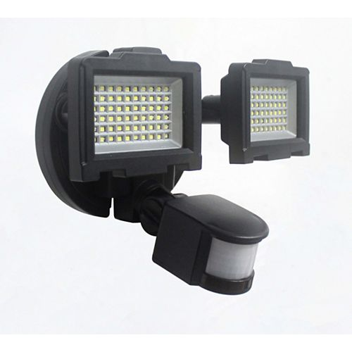 Solar Motion Sensor 120-LED Outdoor Security Light