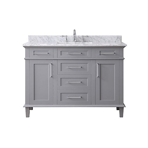 Sonoma 48-inch Pebble Grey Single Sink Vanity
