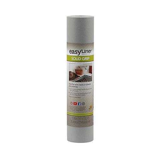 EasyLiner 12 inch X7 ft.  Solid Grey Shelf Liner