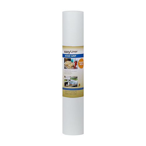 EasyLiner 20 inch X12 ft.  Solid White Shelf Liner