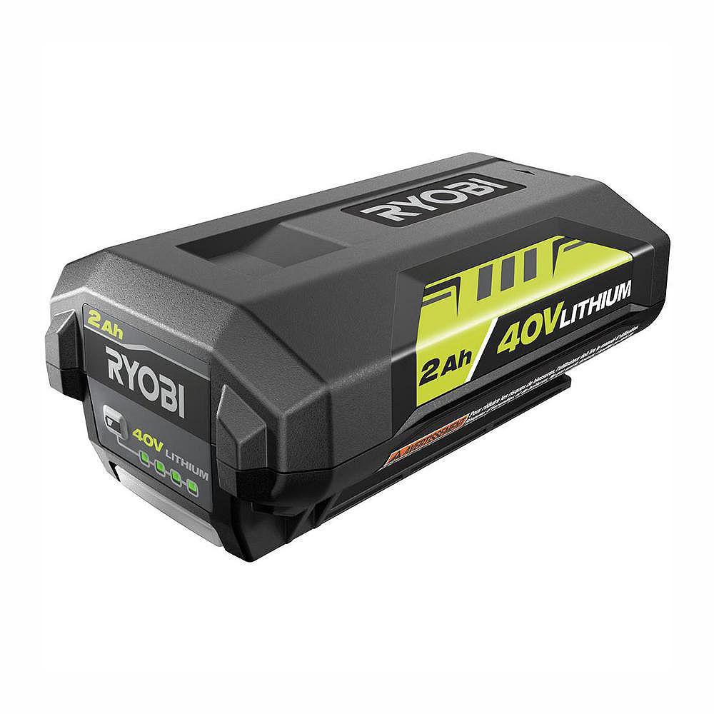 RYOBI 40V Lithium-Ion 2.0 Ah Battery