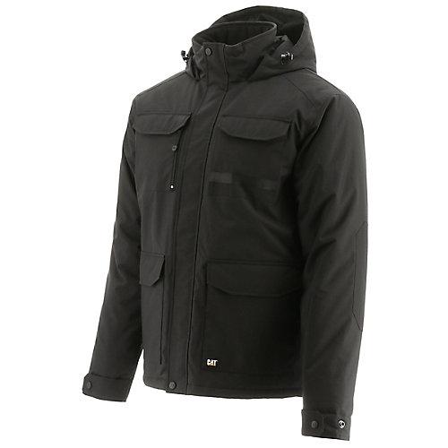 Parka noir, Bedrock, XL