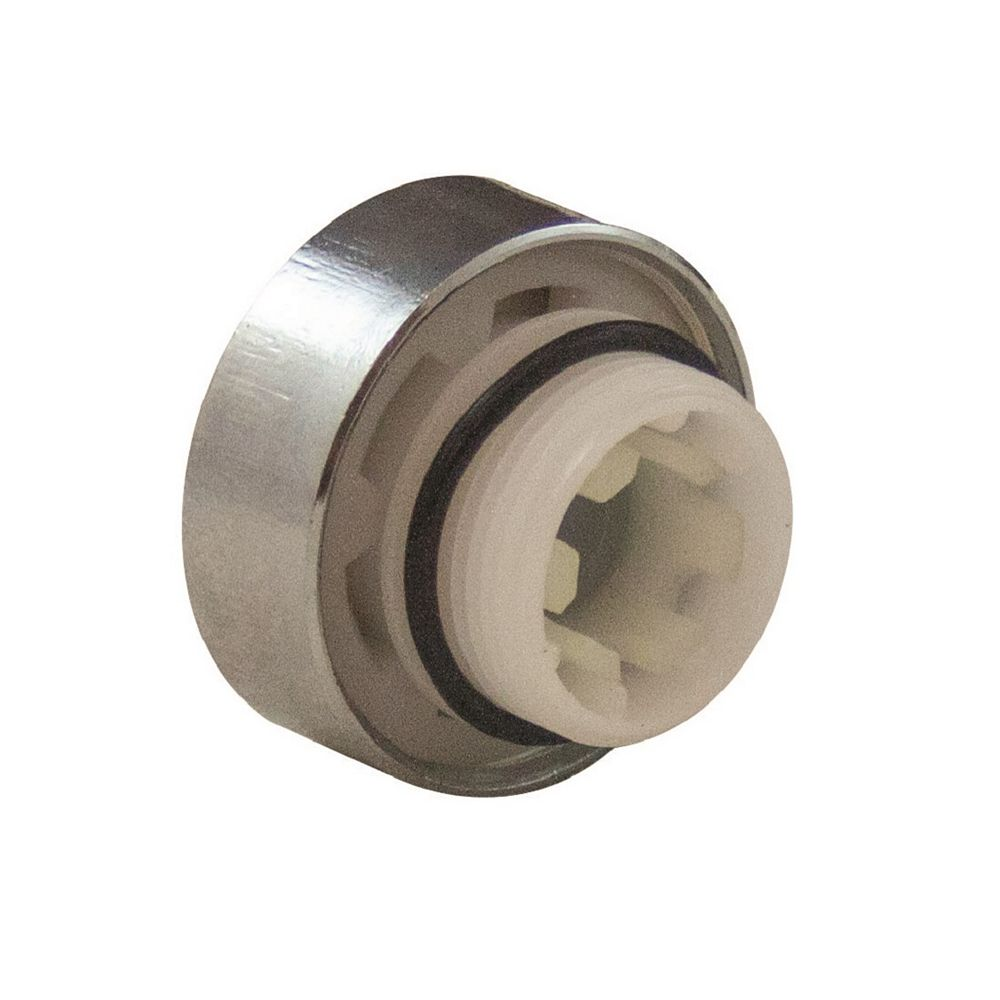 Aqua-Dynamic Vacuum Breaker Kit Chrome Cap Round for 1104 series quarter-turn frost-frees