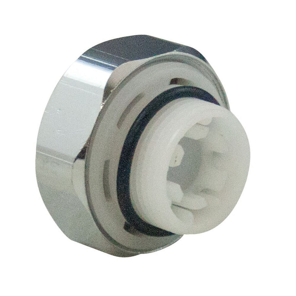 Aqua-Dynamic Vacuum Breaker Kit Chrome Cap 6 sided for 1392/1393 series multi-turn frost-frees