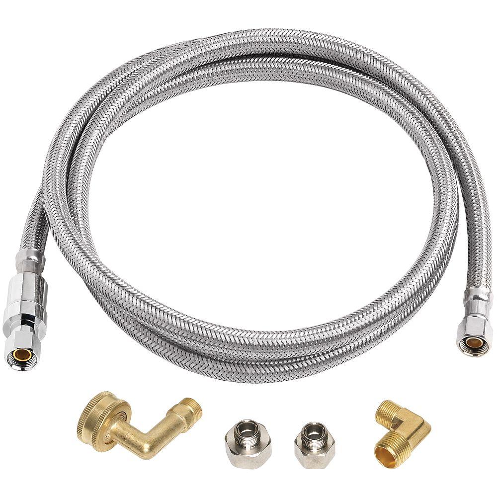 Aqua-Dynamic Flex Connector for Dishwasher BurstProtect 72 inch