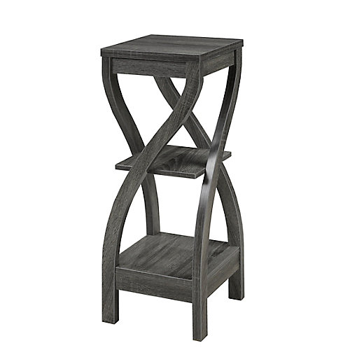 2-Tier Plant Stand, Grey