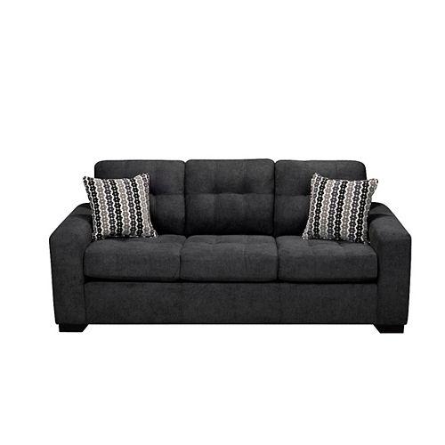 3 Seater Fabric Sofa in Annapolis Anthracite