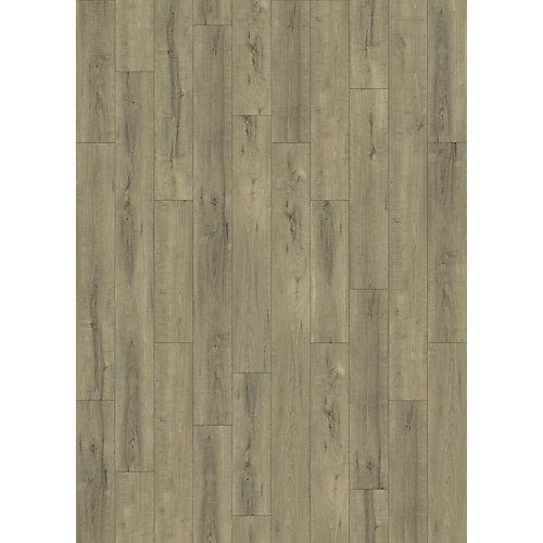 "5001 K2 Everest SPC Flooring 7.17"" X 72""  Pad Attached"