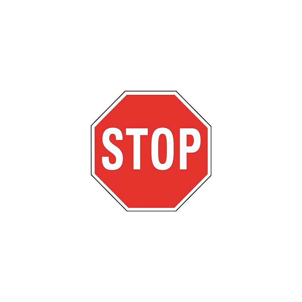 Hy-Ko 24 inch Stop Sign