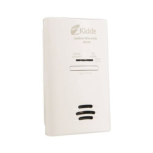 Plug-In Carbon Monoxide Detector With Aa Battery Backup