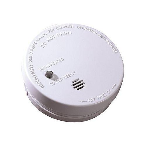 Battery-Operated Smoke Alarm