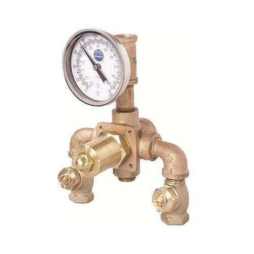 Bradley 8 Gpm Eye Wash Mixing Valve