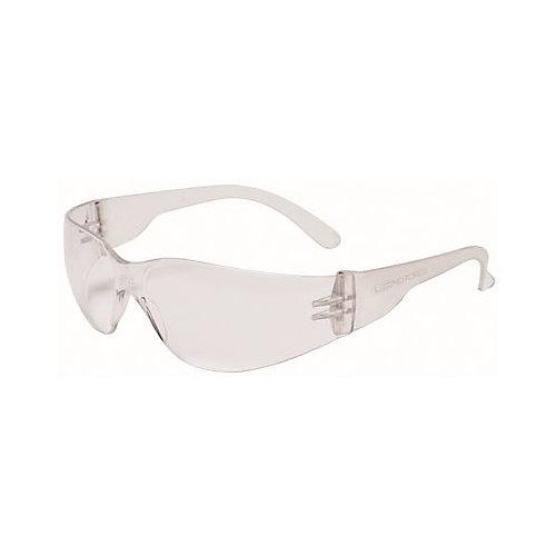 Legendforce No Frame Visitor Safety Glasses, Lightweight, Clear Lens