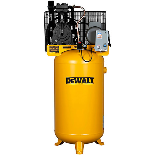 80 Gal. 5 HP 175 psi 2-Stage Stationary Electric Air Compressor
