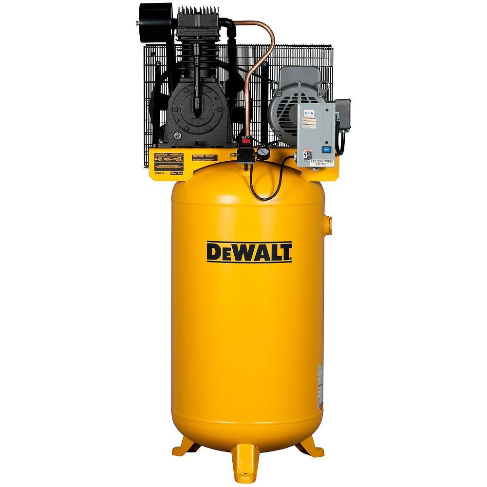 DEWALT 80 Gal. 7.5-HP 175 psi 2-Stage Stationary Electric Air Compressor