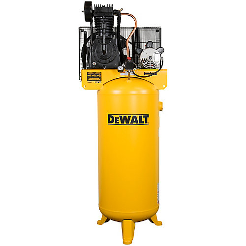 60 Gal. 175 PSI Two Stage Stationary Electric Air Compressor