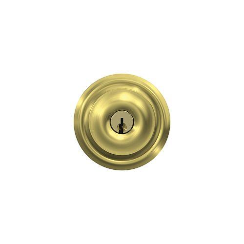 Schlage Georgian Gold Keyed Entry Lock Door Knob