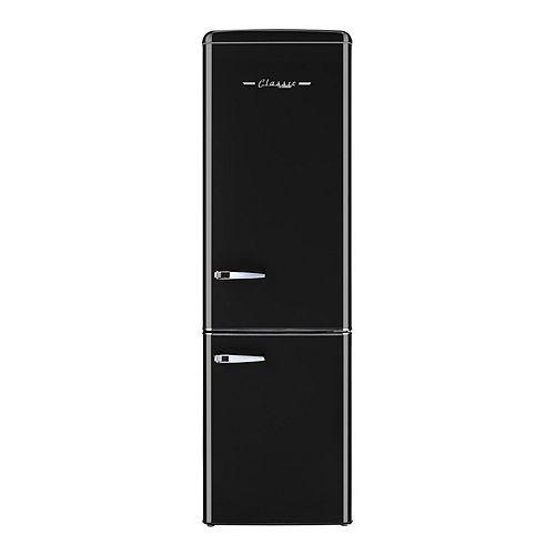 Retro 21.6-inch 9 cu. Ft. Bottom Freezer Refrigerator