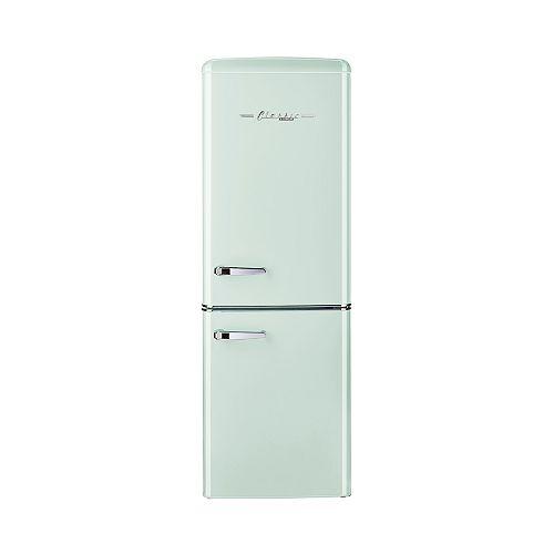 Retro 21.6-inch 7 cu. ft. Bottom Freezer Refrigerator