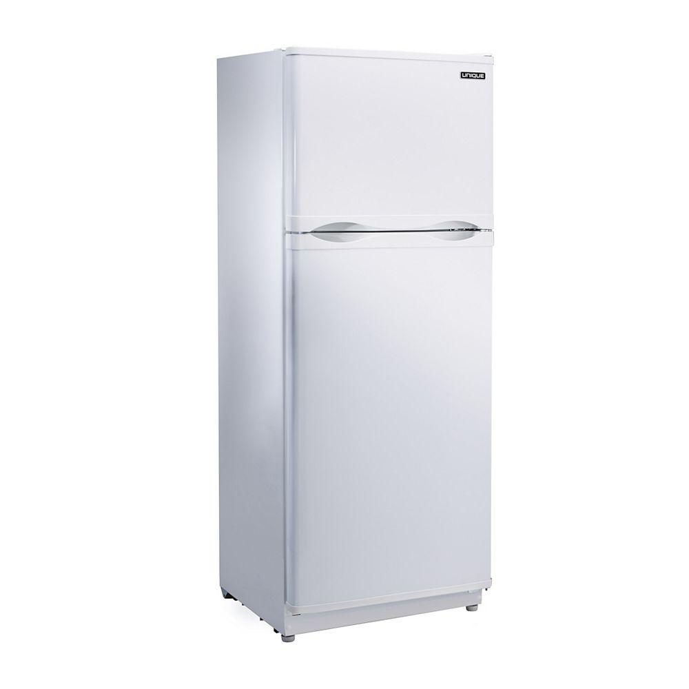 Unique 10.3 cu. ft. 290L Solar DC Top Freezer Refrigerator Danfoss/Secop Compressor in White