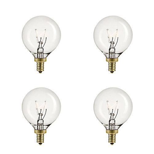 Ampoule incandescente réglable de 5W Vintage Edison (paquet de 4)