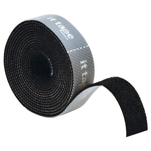 IT Tape Black 2M, 3/4 po x 6.6 pi. avec support