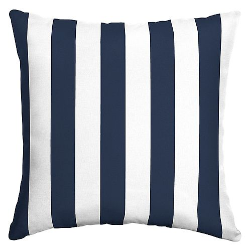 Ferndale Cabana Outdoor Square Throw Pillow