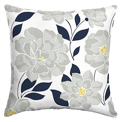 Flower Show Outdoor Square Throw Pillow