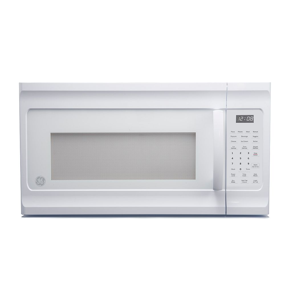 GE 1.6 cu. Ft. Over the Range Microwave Oven in White