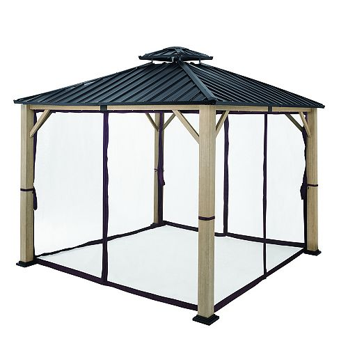Lorston 12 ft. x 12 ft. Hard Top Gazebo