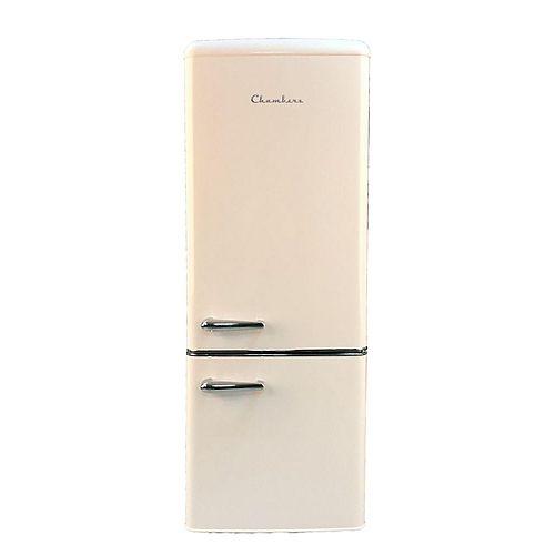 Chambers 7 cu. ft. Retro  refrigerator with bottom freezer