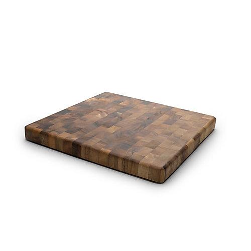 Square End Grain Chef's Board, Acacia Wood