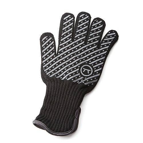 Professional High Temperature Heat Deluxe Grill and BBQ Glove, Small/Medium
