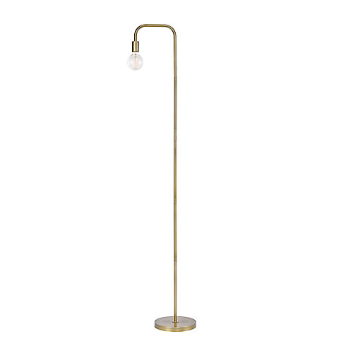 Holden 70 inch Matte Brass Floor Lamp
