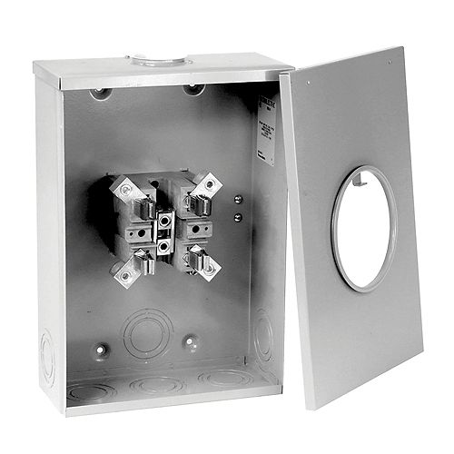 Microlectric 200A/600V Overhead/Underground Oversize Enclosure Meter Socket
