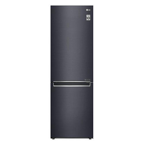 Réfrigérateur 24 pouces W 12 pieds cubes à congélateur inférieur en noir mat, de la taille d'un appartement, profondeur du comptoir