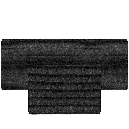 BOGO Concord 24-inch x 36-inch and Concord 36-inch x 48-inch Grey Mat with Latex Rubber Backing