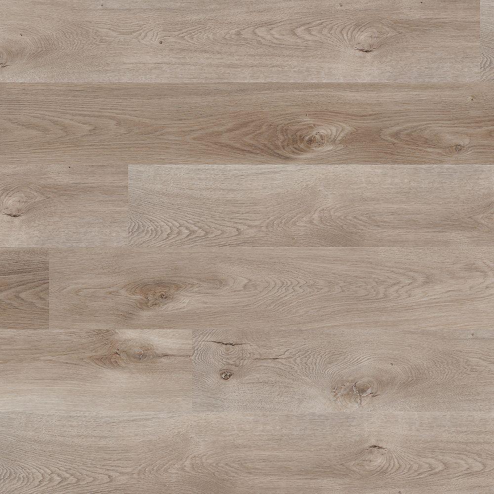 5 mm Waterproof Dayhawk Gray 5-inch x 52-inch Rigid Core Luxury Vinyl Plank  Flooring (25.5 sq. ft. / case)