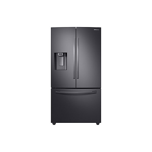 36-inch W 28 cu.ft. French Door Refrigerator in Fingerprint Resistant Black Stainless Steel - ENERGY STAR®