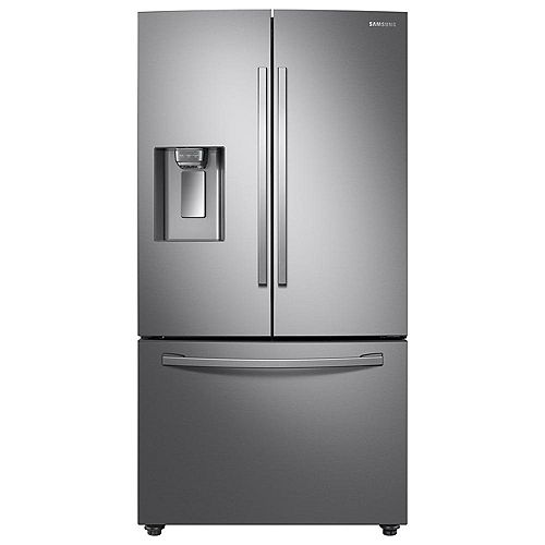 Samsung 36-inch W 23 cu. ft. French Door Refrigerator in Stainless Steel, Counter Depth - ENERGY STAR®