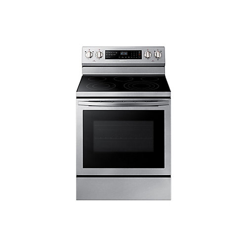 30-inch 5.9 cu. ft. Freestanding Single Oven Electric Range with Self-Cleaning in Stainless Steel