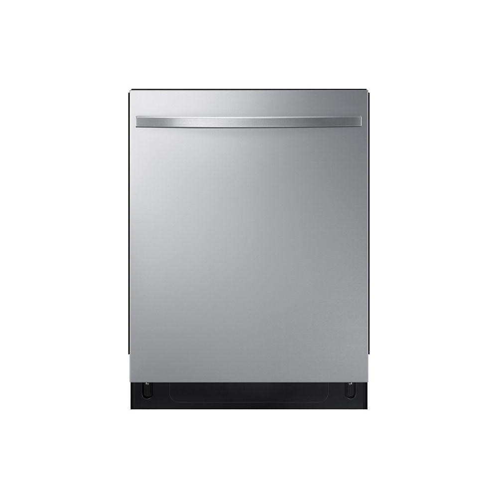 Samsung Lave-vaisselle Top Control 24 po en acier inoxydable avec cuve en acier inoxydable, 48 dBA - ENERGY STAR®