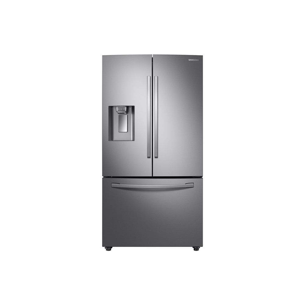 Samsung 36-inch W 28 cu.ft. French Door Refrigerator in Fingerprint Resistant Stainless Steel, Standard Depth - ENERGY STAR®
