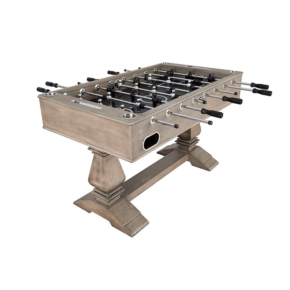Hathaway Montecito 55-in Foosball Table - Driftwood